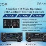 Nouveau Firmware pour IC-705, IC-7300 et IC-9700